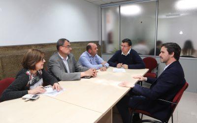 Donate es reuneix amb Confecomerç i Covaco per a abordar accions conjuntes de suport al sector